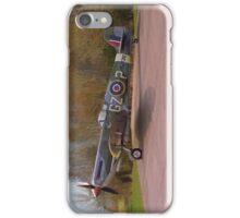 Supermarine Spitfire MJ730 - Portrait iPhone Case/Skin