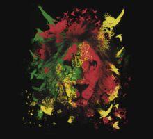 Rasta Lion by Lionart