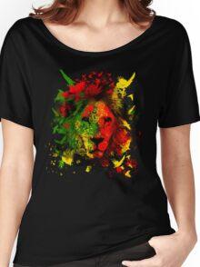 Rasta Lion Women's Relaxed Fit T-Shirt