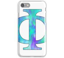 Phi-Tie Dye iPhone Case/Skin