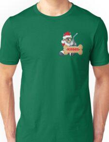 Yorkie Wants Kisses For Christmas Unisex T-Shirt
