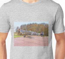 Supermarine Spitfire MJ730 (Drawing) Unisex T-Shirt