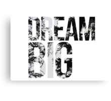 Dream Big! Canvas Print