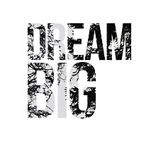 Dream Big! Photographic Print