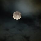 Moon in a Scottish Night Sky by Kirsty Auld
