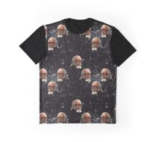 "Jimmy McMillan ""The Rent Is Too Damn High"" In Outer Space Graphic T-Shirt"