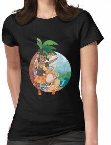 Hau Womens Fitted T-Shirt