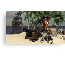 Piratress  Canvas Print