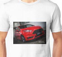 Ford Fiesta ST Mk7 Red Unisex T-Shirt