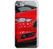 Ford Fiesta ST Mk7 Red iPhone Case/Skin