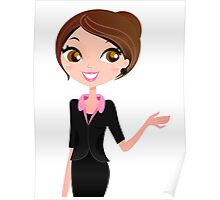 Enjoy our business woman Bestseller Poster