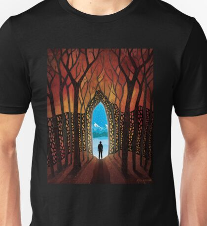 Stepping Into Winter Unisex T-Shirt