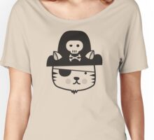 Pirate Cat (one colour) Women's Relaxed Fit T-Shirt