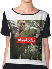 Free Kodak Black x Supreme Chiffon Top