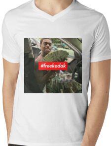 Free Kodak Black x Supreme Mens V-Neck T-Shirt