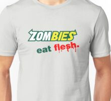 Zombies Eat Flesh Unisex T-Shirt