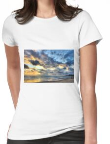 entering into the sea world.... Womens Fitted T-Shirt