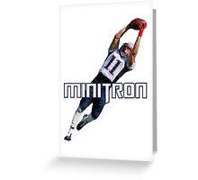Minitron Greeting Card