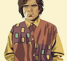 GAME OF THRONES 80/90s ERA CHARACTERS - Tyrion Lannister by GOT80-90