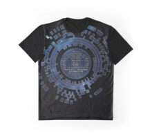 Skycode: Sombra (Digital Sky) Graphic T-Shirt