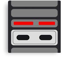 NES Select/Start Canvas Print