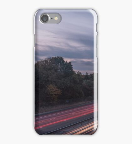M27 Light Trails iPhone Case/Skin