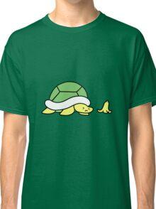 Angry Banana Peel Turtle Classic T-Shirt