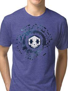 Skycode: Sombra (Skull Sky) Tri-blend T-Shirt