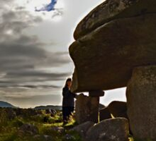Kilclooney Dolmen, County Donegal Sticker