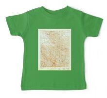USGS TOPO Map California CA Tesla 298994 1907 62500 geo Baby Tee