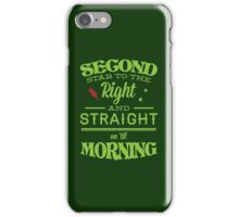 Peter Pan Neverland  - Second Star iPhone Case/Skin