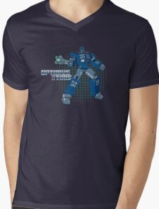Optimus Time Mens V-Neck T-Shirt