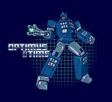 Optimus Time by foureyedesign
