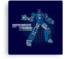 Optimus Time Canvas Print