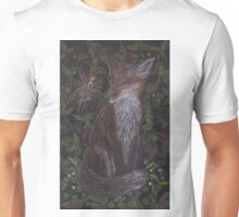 Fox in the Raspberries Unisex T-Shirt