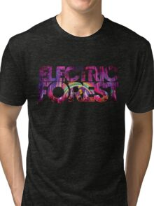 Electric Forest Tri-blend T-Shirt