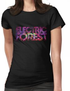 Electric Forest Womens Fitted T-Shirt