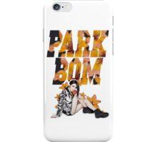 PARK BOM (2NE1) iPhone Case/Skin