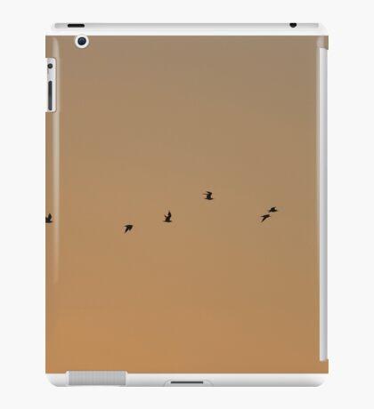birds flying iPad Case/Skin
