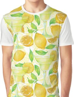 pattern with lemon Graphic T-Shirt