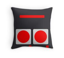 NES Buttons Throw Pillow