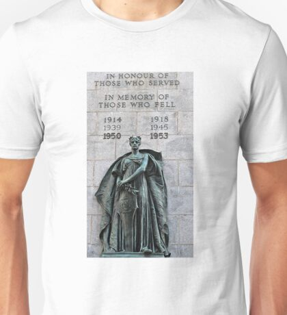 Grand Parade Cenotaph  Unisex T-Shirt