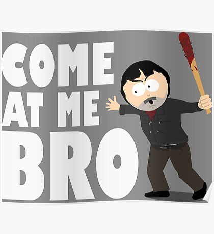 Randy Marsh - Negan Poster