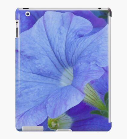 Blue Petunia Blossom iPad Case/Skin