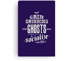 Haunted Mansion - Grim Grinning Ghosts Canvas Print