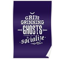 Haunted Mansion - Grim Grinning Ghosts Poster