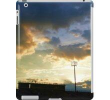 Sunset over Ed Defore Stadium iPad Case/Skin