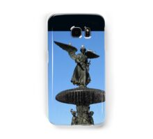 Pigeons on the Bethesda Fountain, New York Samsung Galaxy Case/Skin