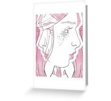 You weren't there. Greeting Card