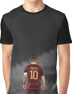 Francesco Totti 10 Graphic T-Shirt